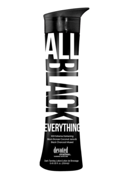 Devoted Creations All Black Everything Zonnebankcreme lotion DHA