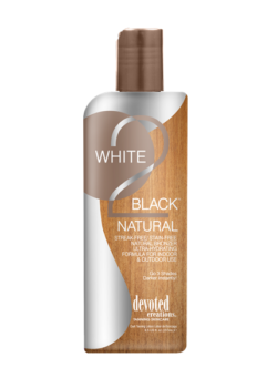 Devoted Creations White 2 Black Natural zonnebank creme lotion