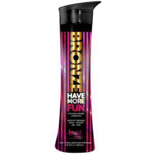 Devoted Creations Bronze have more fun zonnebank creme lotion