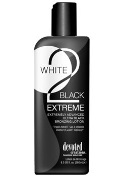 Devoted Creations White 2 Black Extreme zonnebank lotion creme