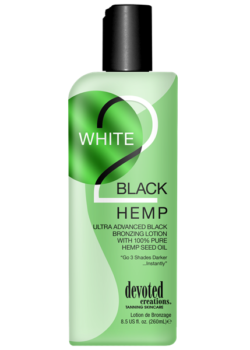 Devoted Creations White 2 Black Hemp zonnebank lotion creme