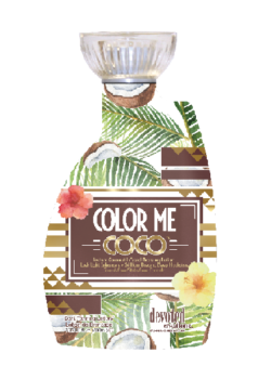 Color me coco color rush Devoted Creations Zonnebank creme lotion dha