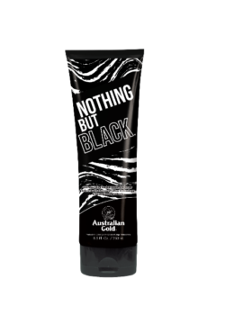 Australian Gold Nothing but Black AG DHA bronzer zonnebank creme lotion