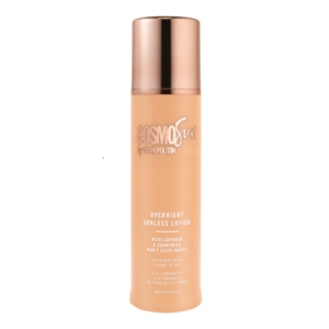 Cosmosun by cosmopolitan overnight sunless lotion